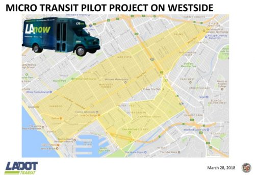 microtransit pilot in West LA